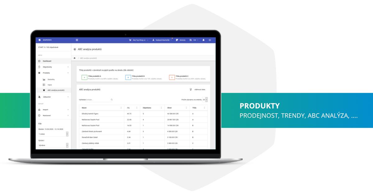 Shopstato - Analýza produktů